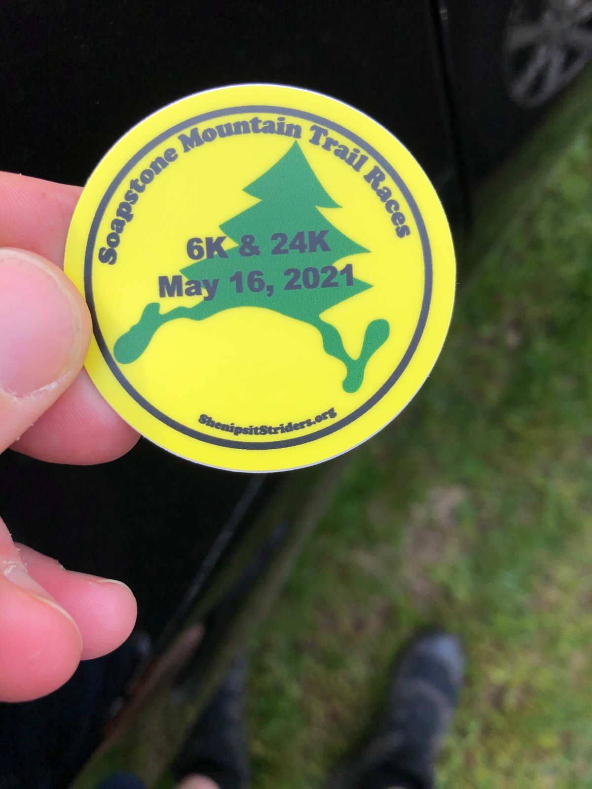 2021 Race Recap #2: Soapstone Mountain Trail Race24k